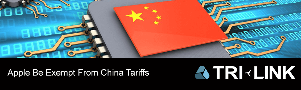 Apple Be Exempt From China Tariffs